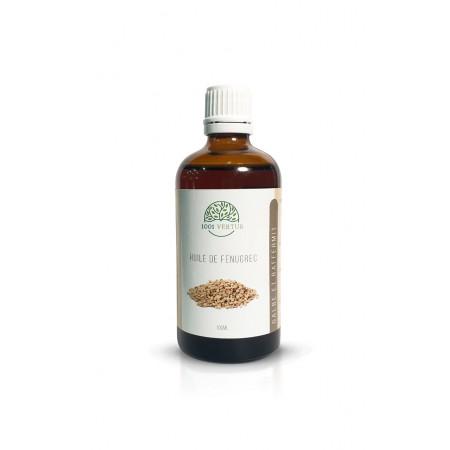 Huile fenugrec 100 ml- Soin de la peau et des cheveux- Raffermissante.