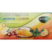 Thé gingembre menthe-citron