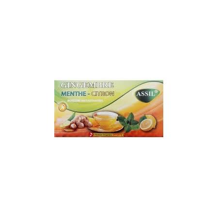Boisson gingembre miel-citron