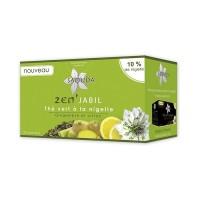 Thé vert à la nigelle, gingembre et citron