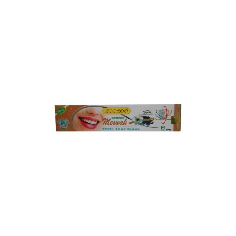 Dentifrice Herbal - Meswak avec Nigelle-100 g