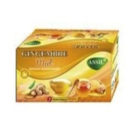 Thé gingembre et miel  Assil