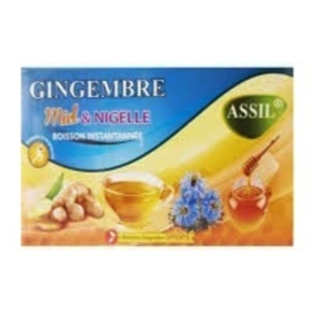 The naturel gingembre miel nigelle-Assil