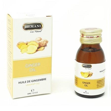 Huile de gingembre- 30 ml- Idéale en cas de rhume et de vomissements