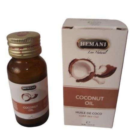 Huile de noix de coco pure et naturelle 30 ml