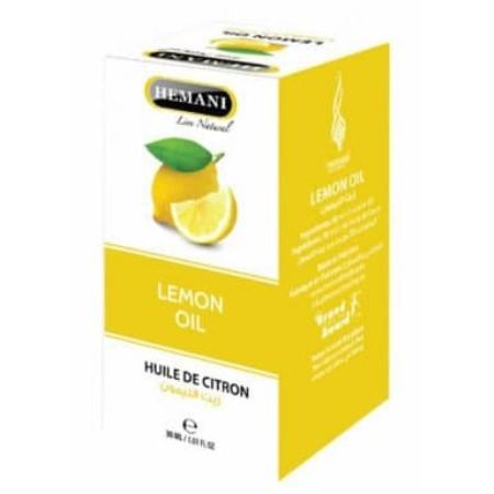 Huile de citron pour la peau