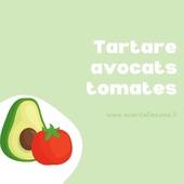 Tartare de tomates et avocats  Pour qui cette part?😜  Pour 4 personnes  Ingrédients ✔️8 tomates ✔️2 avocats ✔️1 càs d'huile d'olive ✔️1 càc de vinaigre de cidre ✔️2 càs de jus de citron   👉Couper les avocats et les tomates en petits dés 👉Mettre les dés de tomates dans un saladier 👉Y verser l'huile d'olive, le vinaigre, le jus de citron, le sel et le poivre et mélanger 👉Dans un autre saladier, mélanger les cubes  d'avocat  avec 1 càs de jus du citron 👉Placer une couche de dés d'avocat à laide d'un cadre à pâtisserie, en tassant bien 👉Mettre une grosse couche de tomates 👉Mettre au frais   👉Au moment de servir, enlever les cadres,  rajouter de la salade dessus,  arroser de vinaigrette restante et parsemer de pignons de pin  Faire de même pour les autres tartares      #tartaretomate #recetterapide #recettefacile #ideerecette #alimentation #alimentationsaine #naturo #naturopatheaufeminin #essentiellesunna