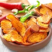 🍠Chips de patate douce 🍠  Pour une portion ✅1 patate douce ✅2 CAS huile coco  ✅sel gris poivre, ail herbes en Provence   👉Laver et bien frotter la patate douce à l'eau   👉Couper la patate douce en rondelles fines, à l'aide d'une mandoline de préférence  en conservant  la peau.   👉Disposer les rondelles sur une plaque de cuisson avec du papier sulfurisé en les espaçant  👉Préchauffer le  four à 180° C.  👉Recouvrir  les rondelles de patate douce d'huile de coco à l'aide  un pinceau  👉Saupoudrer de poivre d'ail et d'herbes de Provence,  👉Enfourner  👉Au bout d'une vingtaine de minutes, retourner les rondelles.   👉Retirer les chips une à une dès qu'elles sont assez dorées.   👉Saler       ---------------------------------- #patatedouce #chips #ideerecette #recetterapide #healthy #ideerecetterapide #recettefacile #bienmanger -----------------------------------