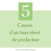 La prolactine est une hormone produite par les hommes et femmes en petite quantité. Elle est surtout nécessaire chez les femmes, après un accouchement, car elle permet d'allaiter.    Un taux de prolactine trop élevé peut causer:   👉chez les femmes : cycles menstruels irréguliers ou absents, trouble de la fertilité, écoulement de lait au niveau des seins 👉chez les hommes : trouble de la fertilité, développement des seins etc 👉ou aucun symptôme   Voici 5 causes d'hyperprolactinémie ( hormis la grossesse)  ✅Le stress  ✅L'exercice physique intense ✅La prise de certains médicaments ✅L'hypothyroïdie ✅Un trouble au niveau de l'hypophyse   👉Une fois la cause déterminée, il est plus aisé d'agir      ----------------------- Je suis naturopathe et j'aide les femmes à agir sur leurs troubles naturellement en agissant sur les causes -----------------------   #prolactine #allaitement #grossesse #dereglementhormonal #naturopatheaufemin #santenaturelle #comprendre #essentiellesunna #aulnaysousbois